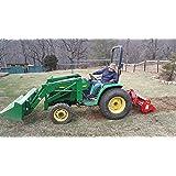 "Farmer Helper 48"" Tiller Cat.I 3pt 20+hp (FH-TL125)~Adjustable SideShift & SlipClutchDriveline Requires a Tractor. Not a standalone Unit."