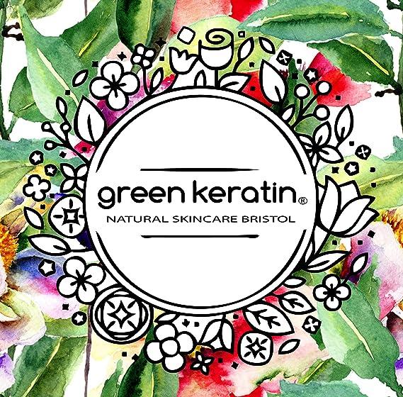 Green Keratin CoQ10 y Vitamina E Aceite Facial de Noche || Rosa Mosqueta, Argan, Kukui, Squalane de Oliva, Neroli Aceite Facial de Noche || 50 ml: ...