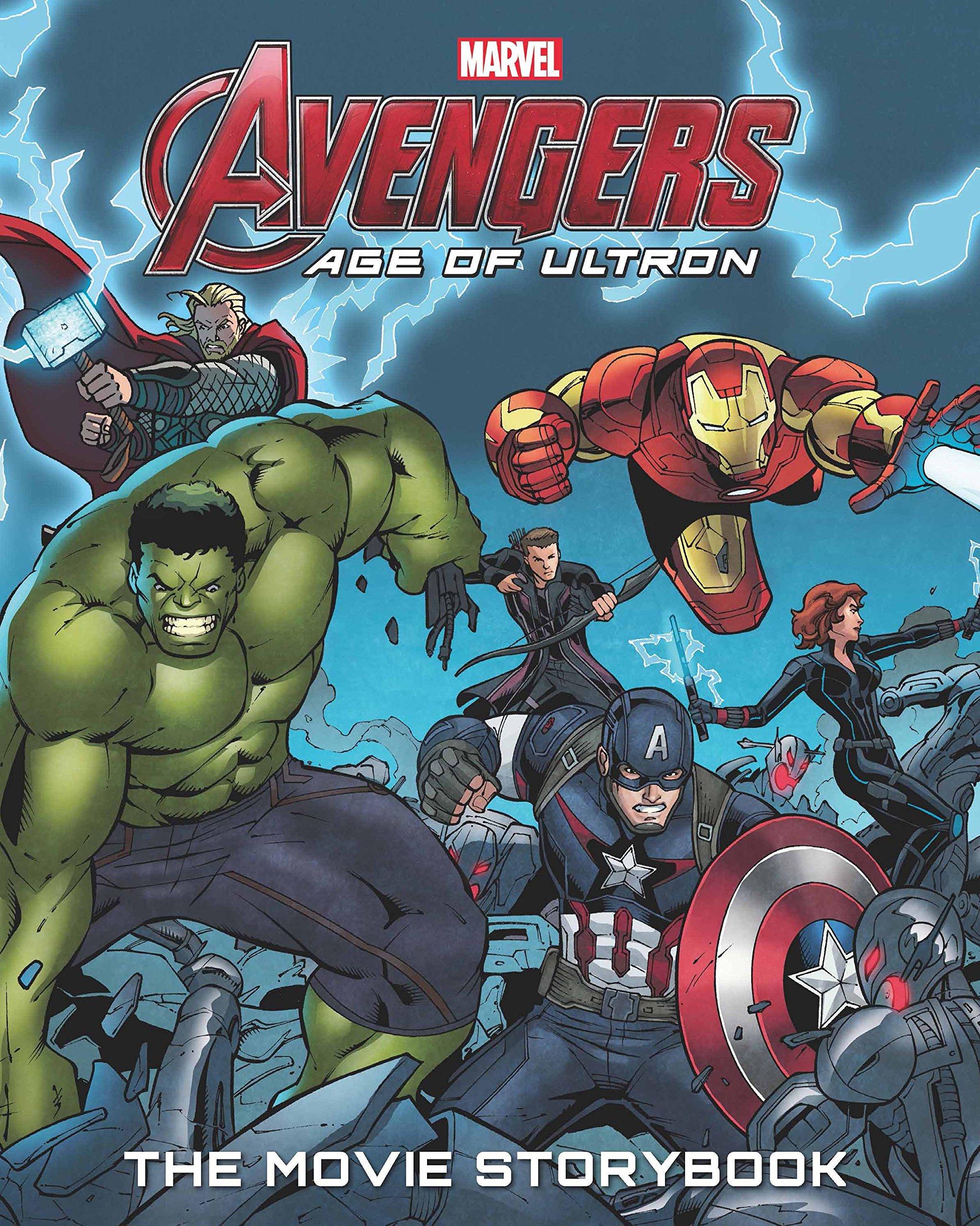 Avengers Age Of Ultron Comic Book