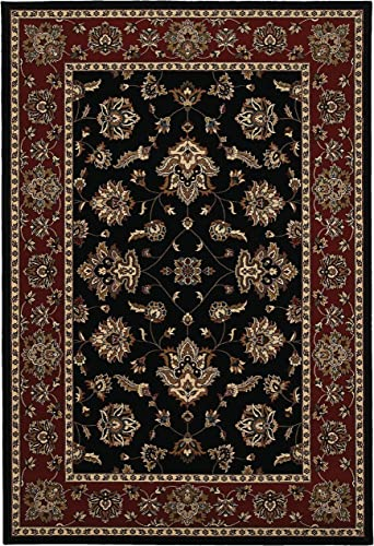Oriental Weavers 623M3 Ariana Floor Area Rug, Black