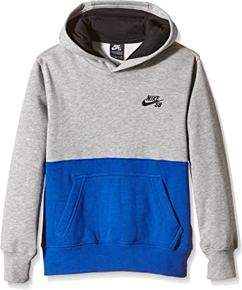 Nike SB Pull Garçon Multicolore (Dark Grey Heather