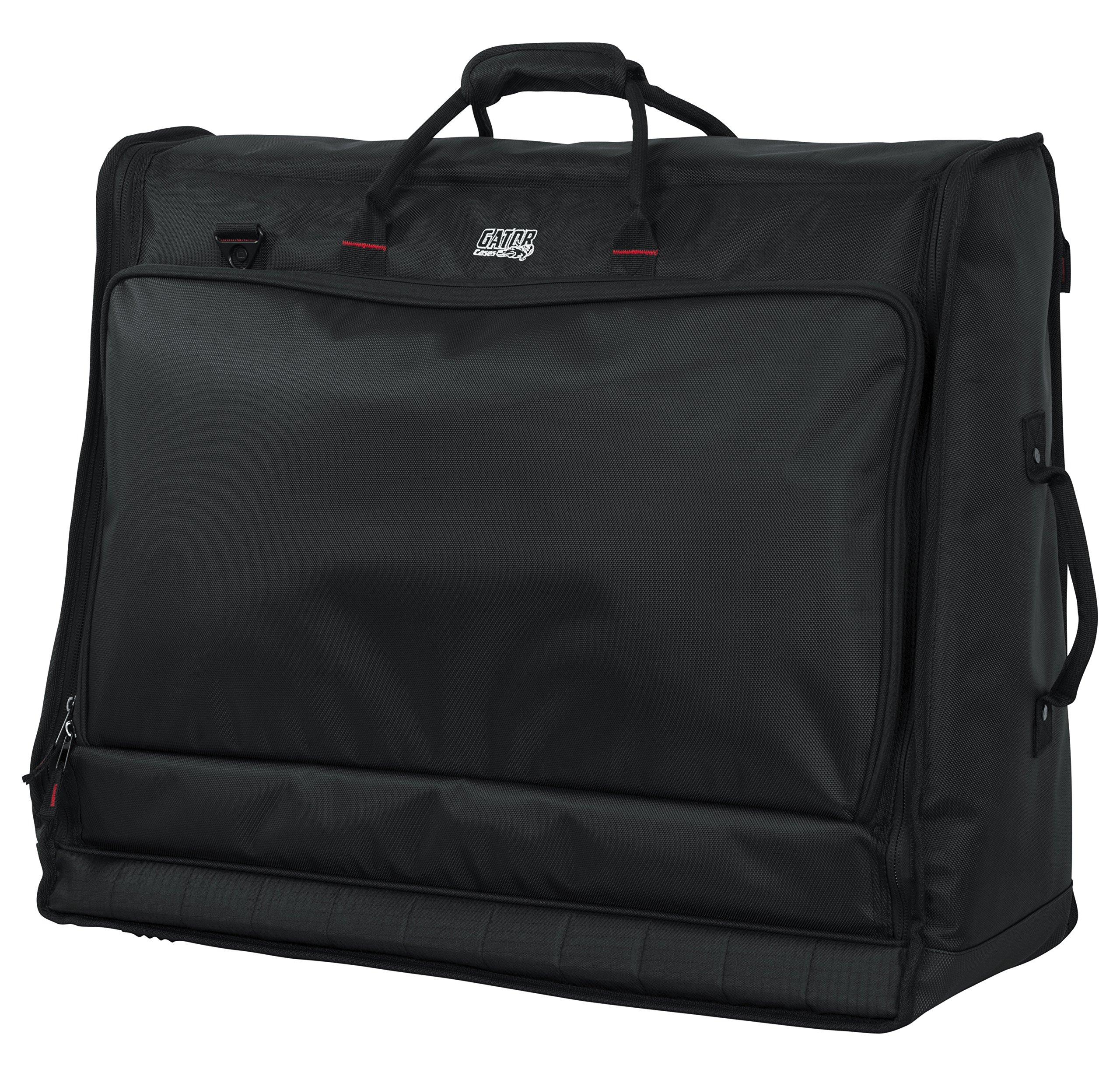 Gator Cases Padded Large Format Mixer Carry Bag; Fits Mixers Such as Behringer X32 Compact |26'' x 21'' x 8.5'' (G-MIXERBAG-2621)