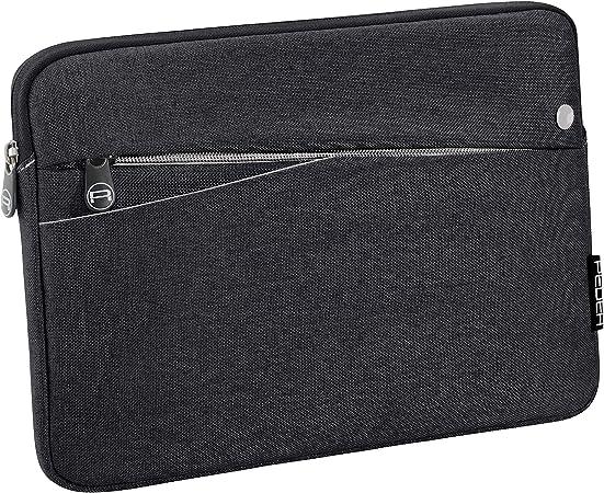 Pedea Tablet Pc Tasche Fashion Für 10 1 11 Zoll 25 6 27 96 Cm Schutzhülle Etui Case Mit Zubehörfach Schwarz Elektronik