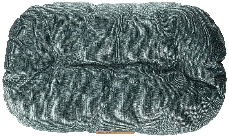 bluee 25-inch bluee 25-inch M-Pets bluee Oval Cushion Dog Bed, 25-inch