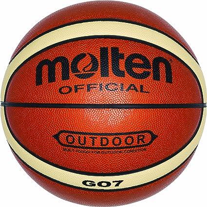 MOLTEN BGO7 - Balón de Baloncesto, Color Naranja y Crema (Talla 7 ...
