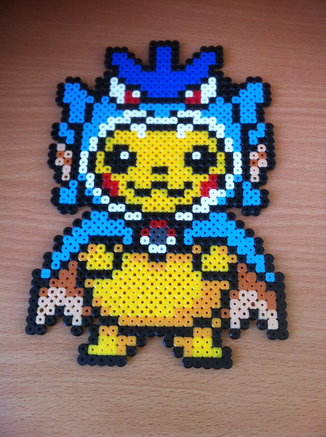 Pixel Art Hama Beads Pokemon Pikachu Costume Leviathor
