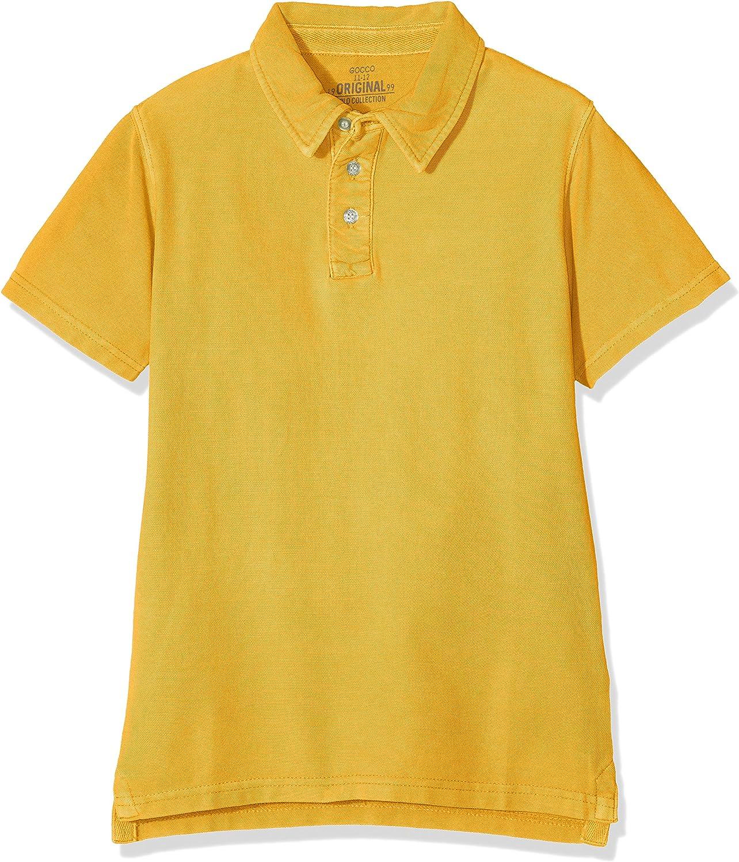 Gocco Basico, Polo para Niños, Amarillo (Amarillo Flúor), 74-90 ...