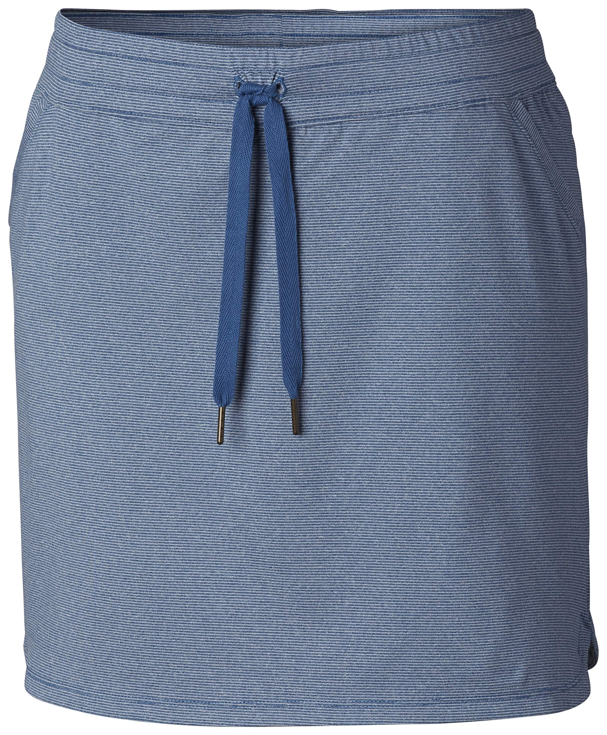 Columbia Women's Reel Relaxed Skirt, Impulse Blue, X-Small by Columbia