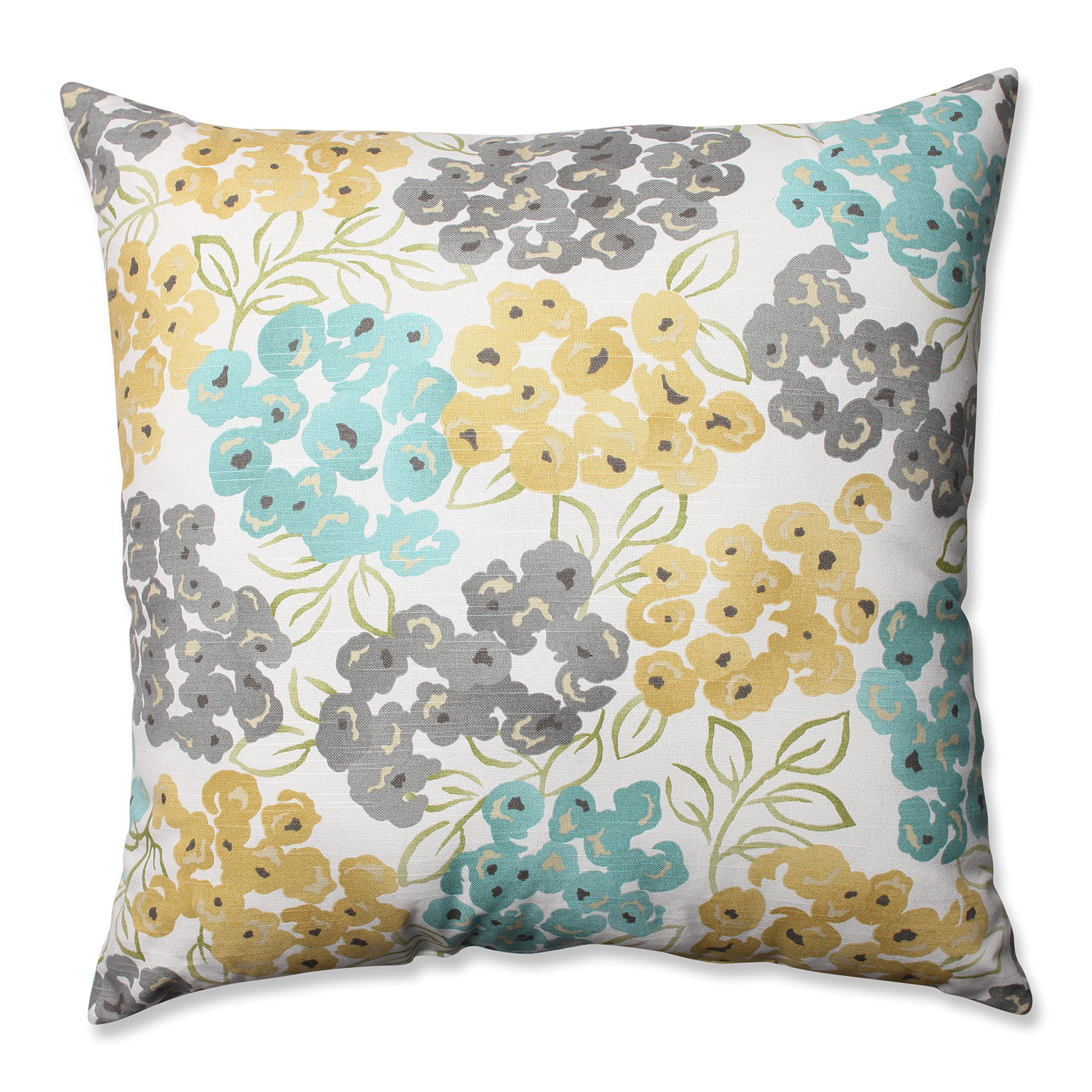 Pillow Perfect Luxury Floral Pool Floor Pillow, 24.5-Inch