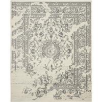 Safavieh Adirondack Collection Oriental Vintage Distressed 4'x6' Area Rug (Ivory/Silver)