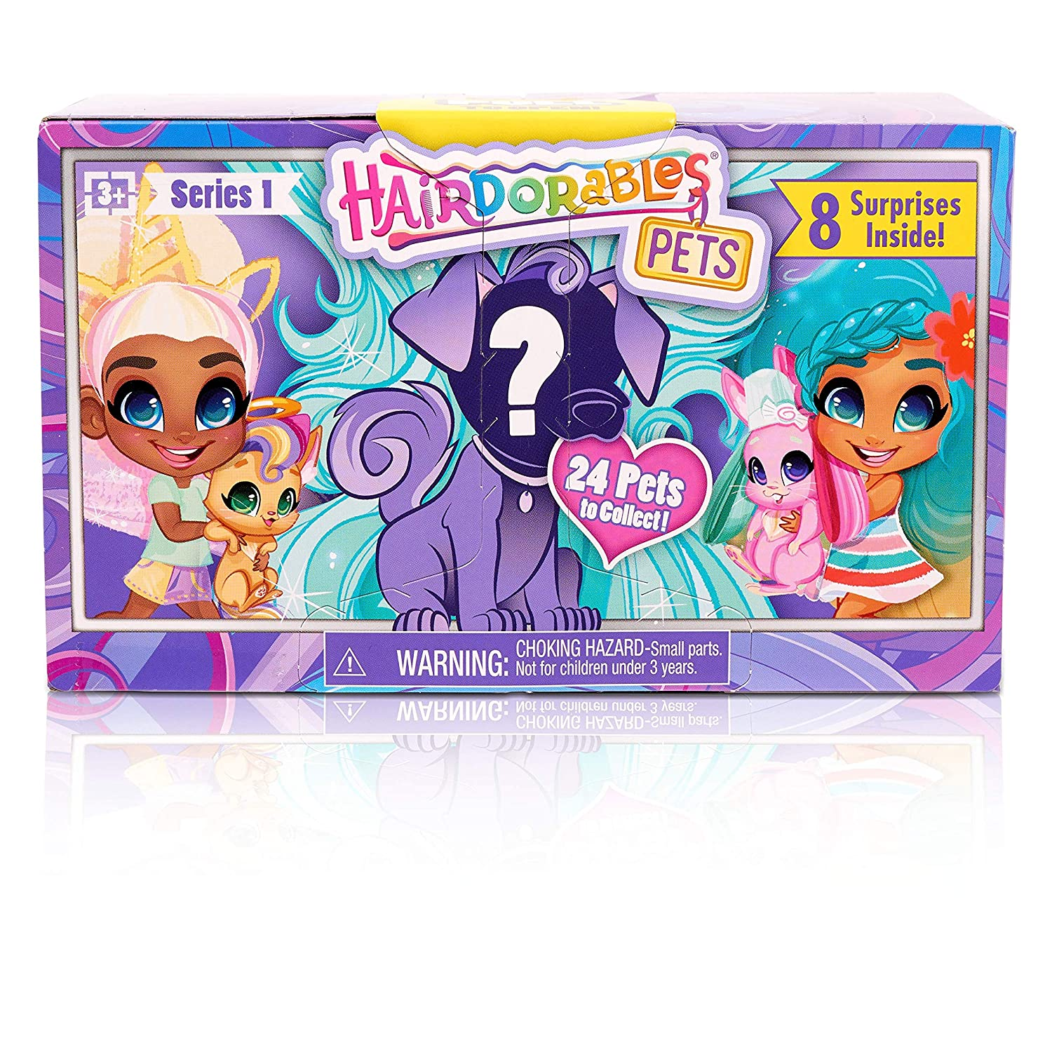 Hairdorables Pets Set Series 1 Styles May Vary
