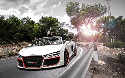 Amazoncom Audi R V Spyder By Regula Tuning X Photo - Audi r8 v10 spyder
