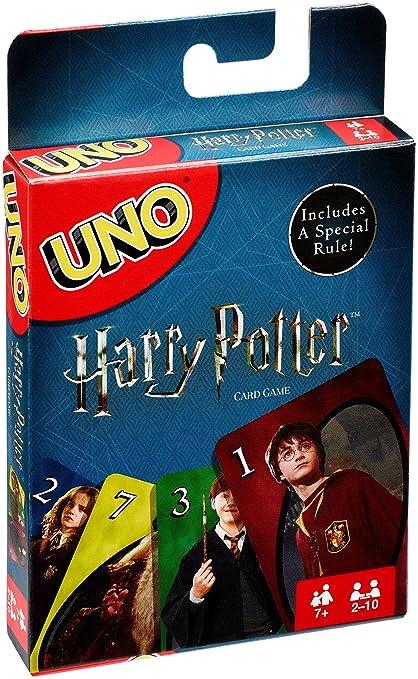 Mattel Games UNO Harry Potter Juego de Eliminar Cartas - Juegos de Cartas (7 año(s), Juego de Eliminar Cartas, Harry Potter, Niños y Adultos, ...