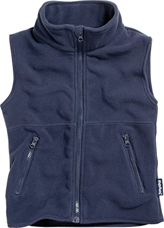 8a846488f Playshoes Girl s Kids Sleeveless Warm Fleece Vest Zipper Gilet ...