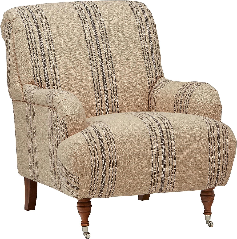Amazon Brand – Stone & Beam Aubree Farmhouse Accent Chair, 32