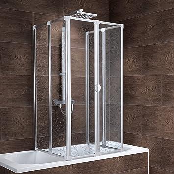 Duschabtrennung Für Badewanne schulte rundum duschabtrennung münchen 2 x 104x140 cm 2x3 teilig