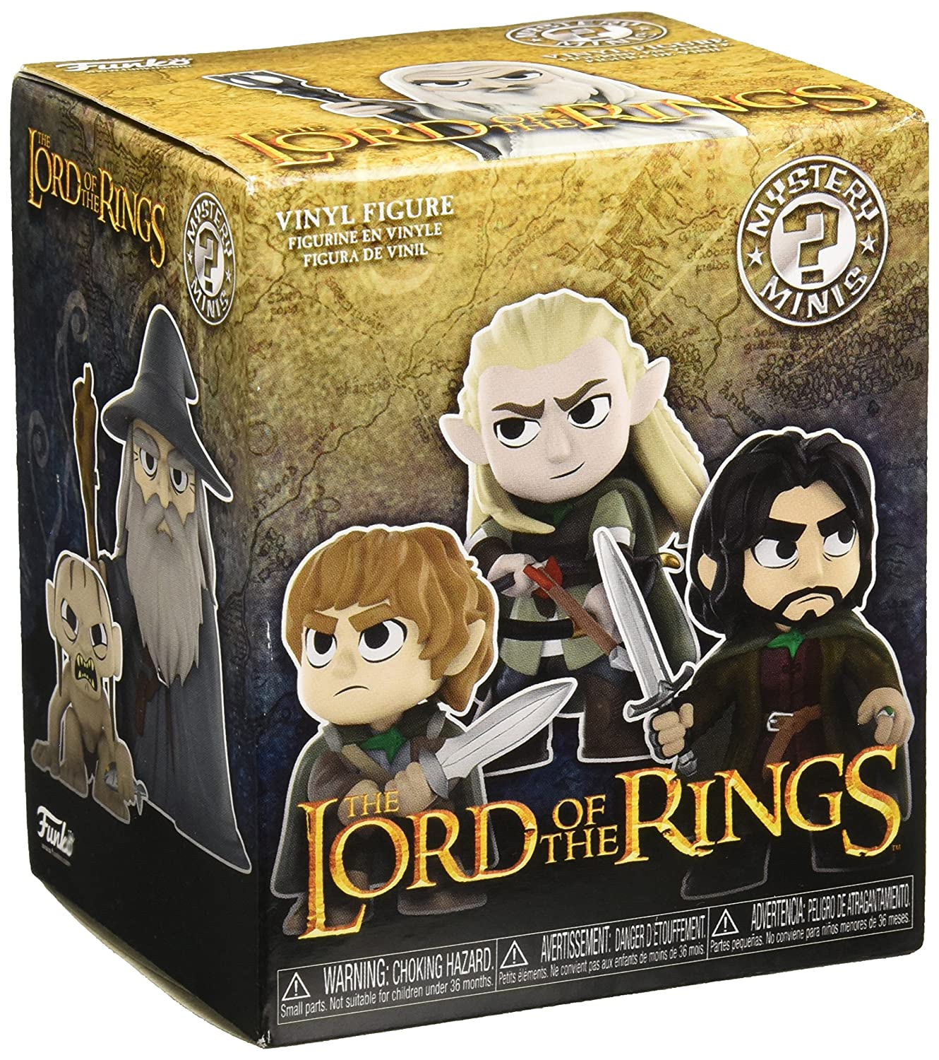 24c5e335333e4 Funko Mystery Mini: Tolkien - Lord of The Rings (One Mystery Figure)  Collectible Toy