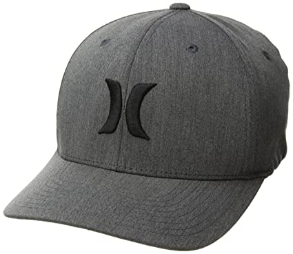 Amazon.com  Hurley Men s Black Textures Baseball Cap  Clothing a141fda011e