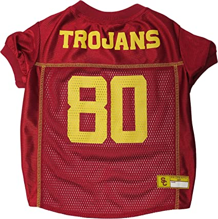 Football Jerseys for Dogs /& Cats Available in 50 Basketball Jerseys Pets First NCAA PET Apparels Collegiate Teams /& 7 Sizes