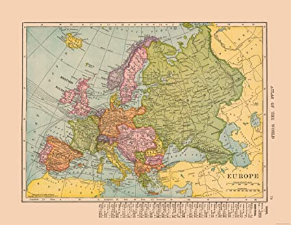 Amazon.com: MAPS OF THE PAST International Map - Europe ... on online atlas of europe, climate map of europe, atlas asia map, atlas europe with capitals, world map europe, large map of europe, map of western europe, 1660 map of europe, rivers of europe, political map of europe, map of southern europe, detailed map of europe, 1872 map of europe, current atlas of europe, view of europe, current map europe, gerardus mercator map of europe, aerial map of europe, attractions of europe,