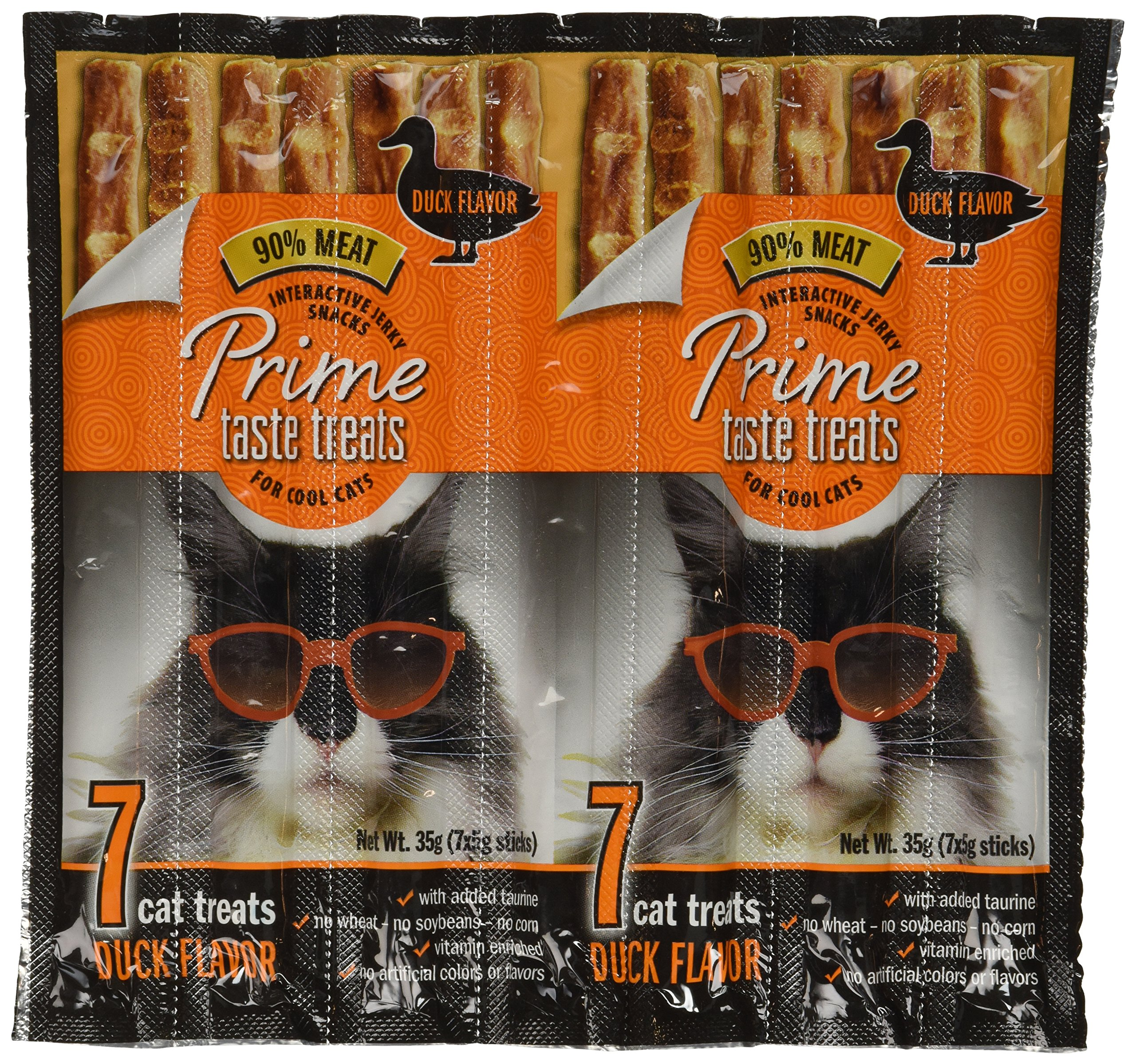 Prime Taste Treats Duck Jerky Treat for Cats 35 g