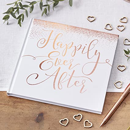 ginger ray Libro para Invitados con Texto en Inglés Ever After Guest ...