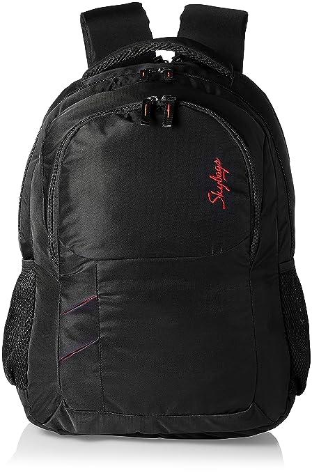 b19b79fec4 Skybags Fox Black Casual Backpacks (BPFOXBLK)  Amazon.in  Bags ...