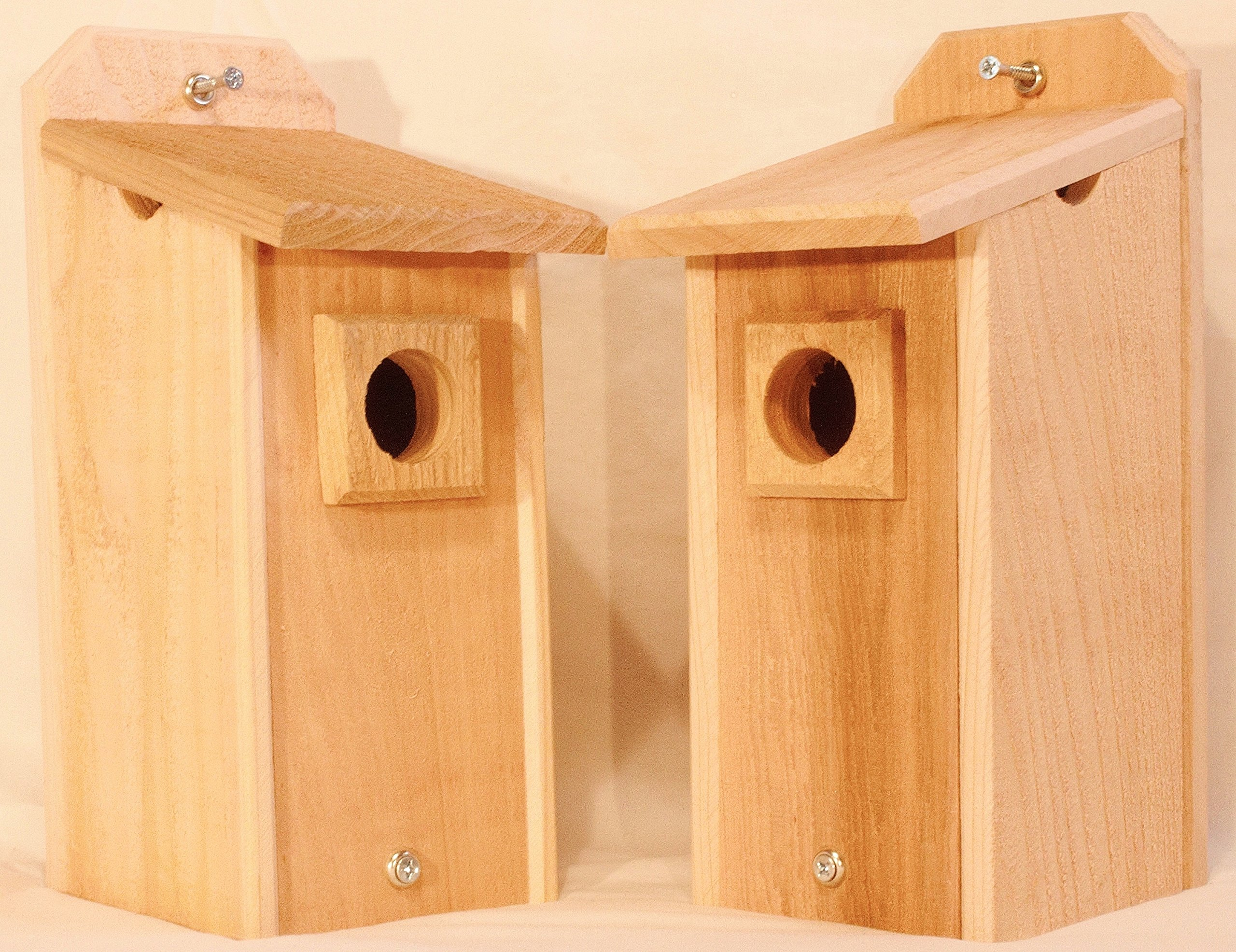2 Cedar Bluebird Houses, Bird House by Ben Hargis