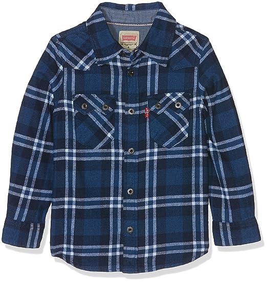 Levi S Kids Ls Shirt Indy Chemise Garcon Levis Amazon Fr
