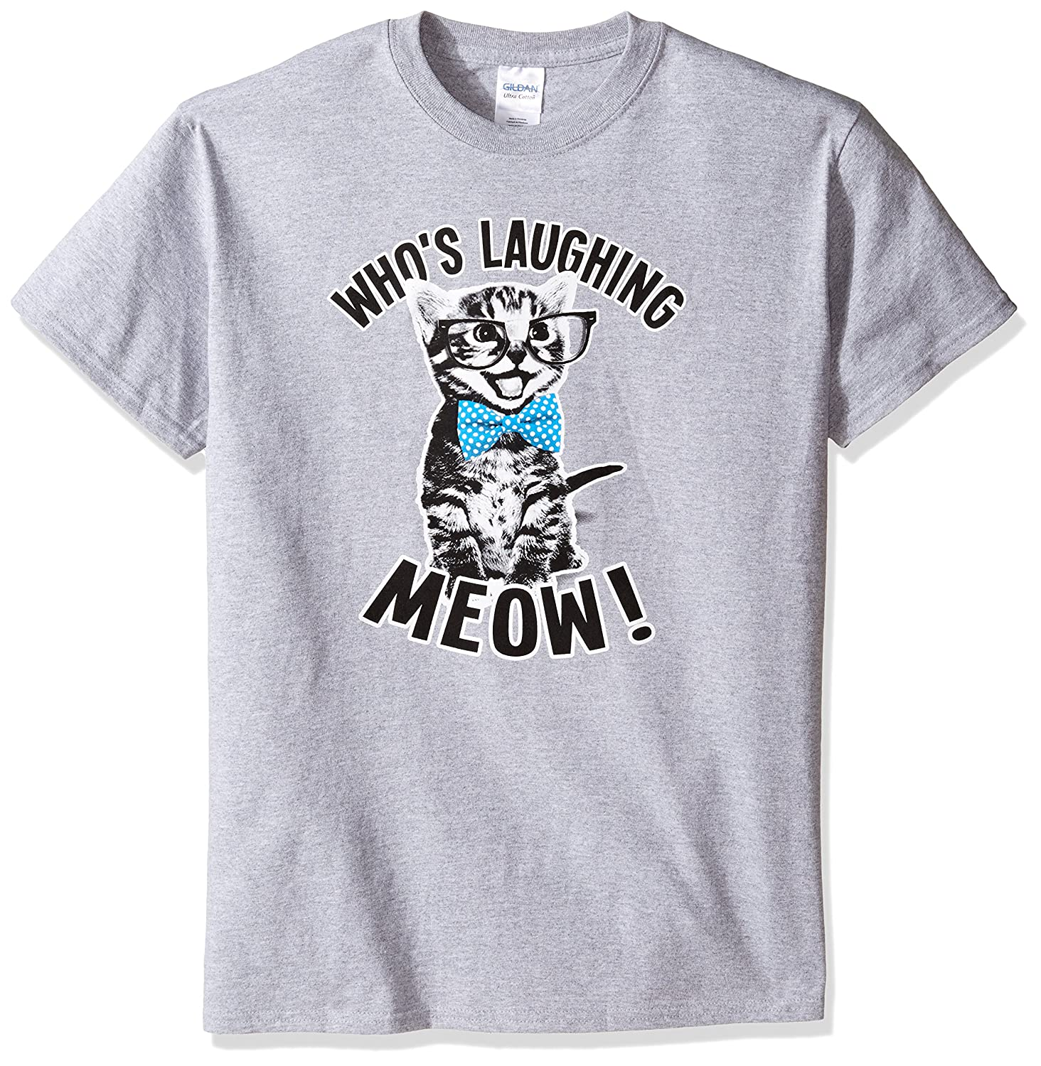 TLine Who's Laughing Meow T-shirt