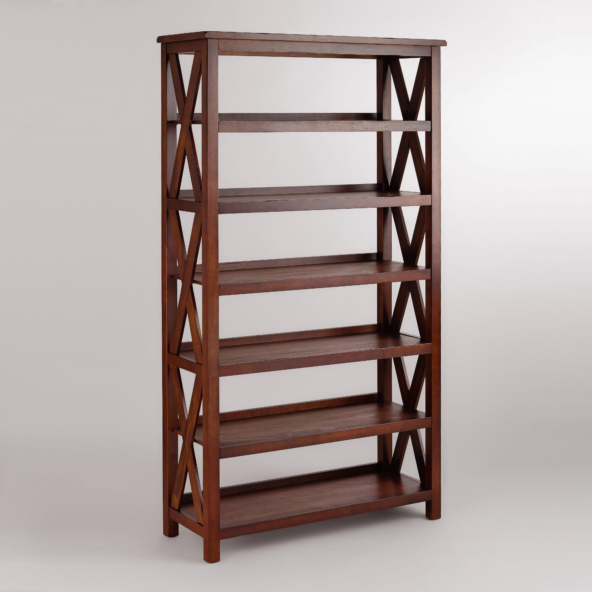 Verona Six-Shelf Bookshelf | World Market