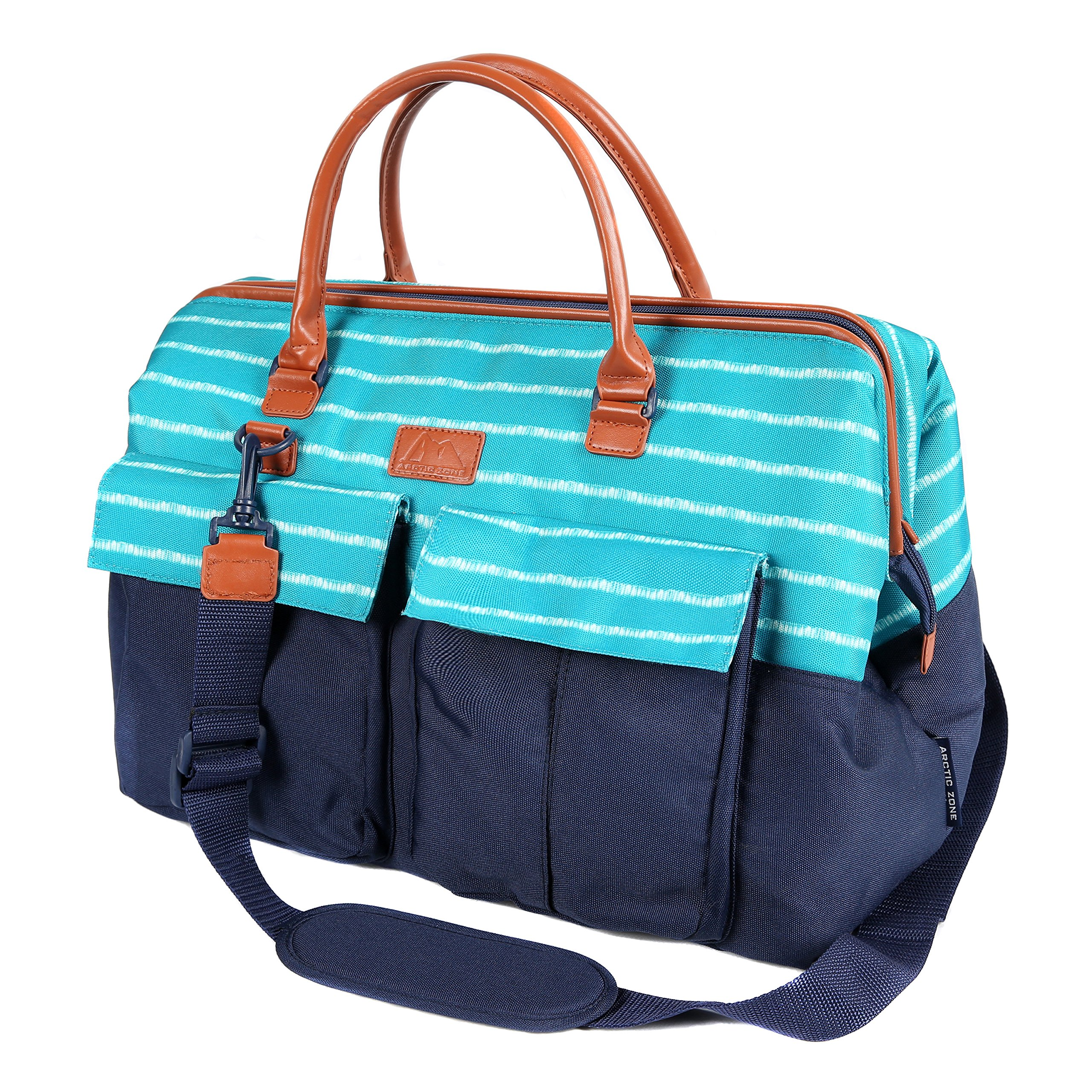 Arctic Zone 1523AMPR0431 Insulated Picnic Carrier, Teal by Arctic Zone