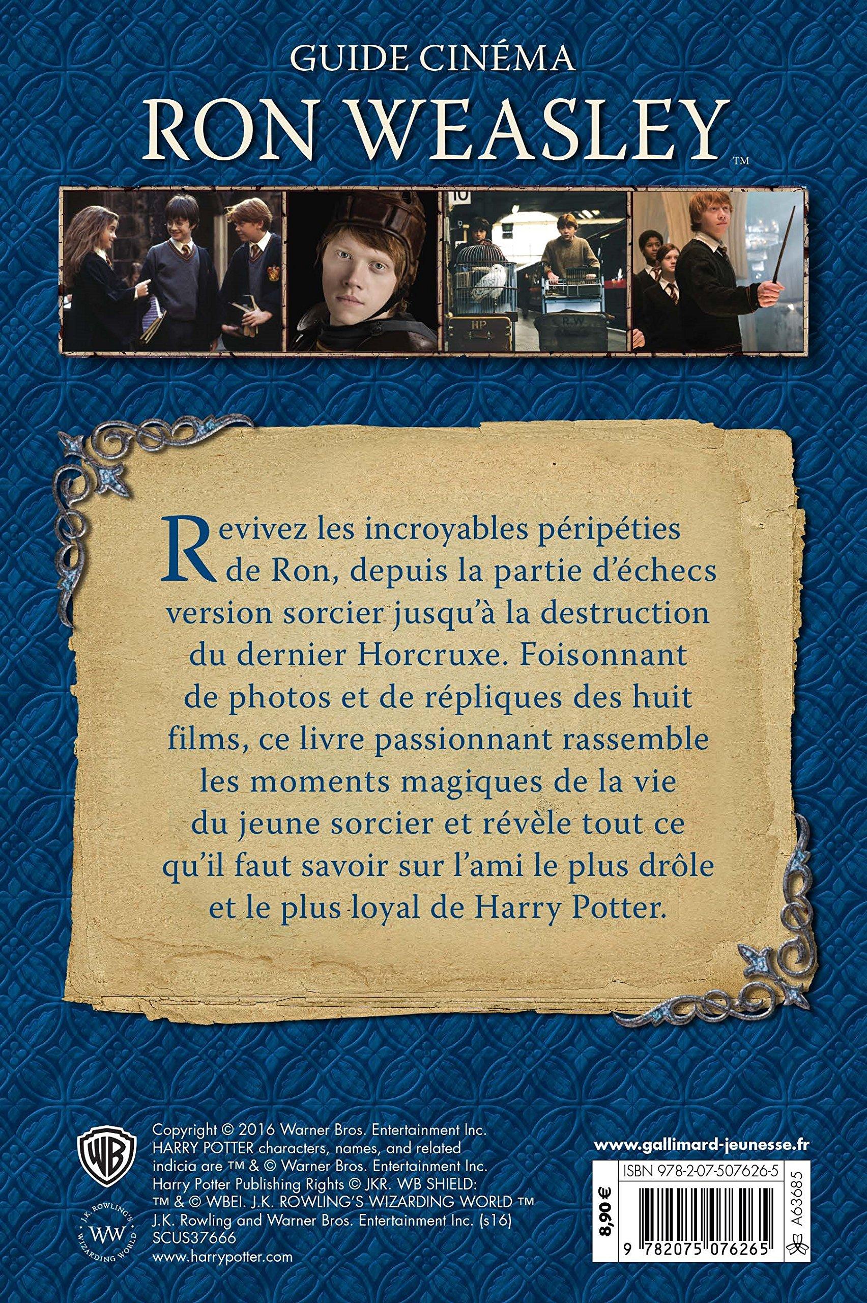 Ron Weasley (Guide Cinéma): Amazon.es: Baker,Felicity ...