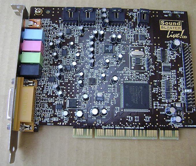 Creative Labs Sound Blaster Live! 5.1 Sound Card (70SB006003007)