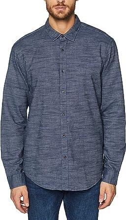 Esprit 029EE2F006 Camisa Casual, Azul (Navy 400), M para Hombre: Amazon.es: Ropa y accesorios