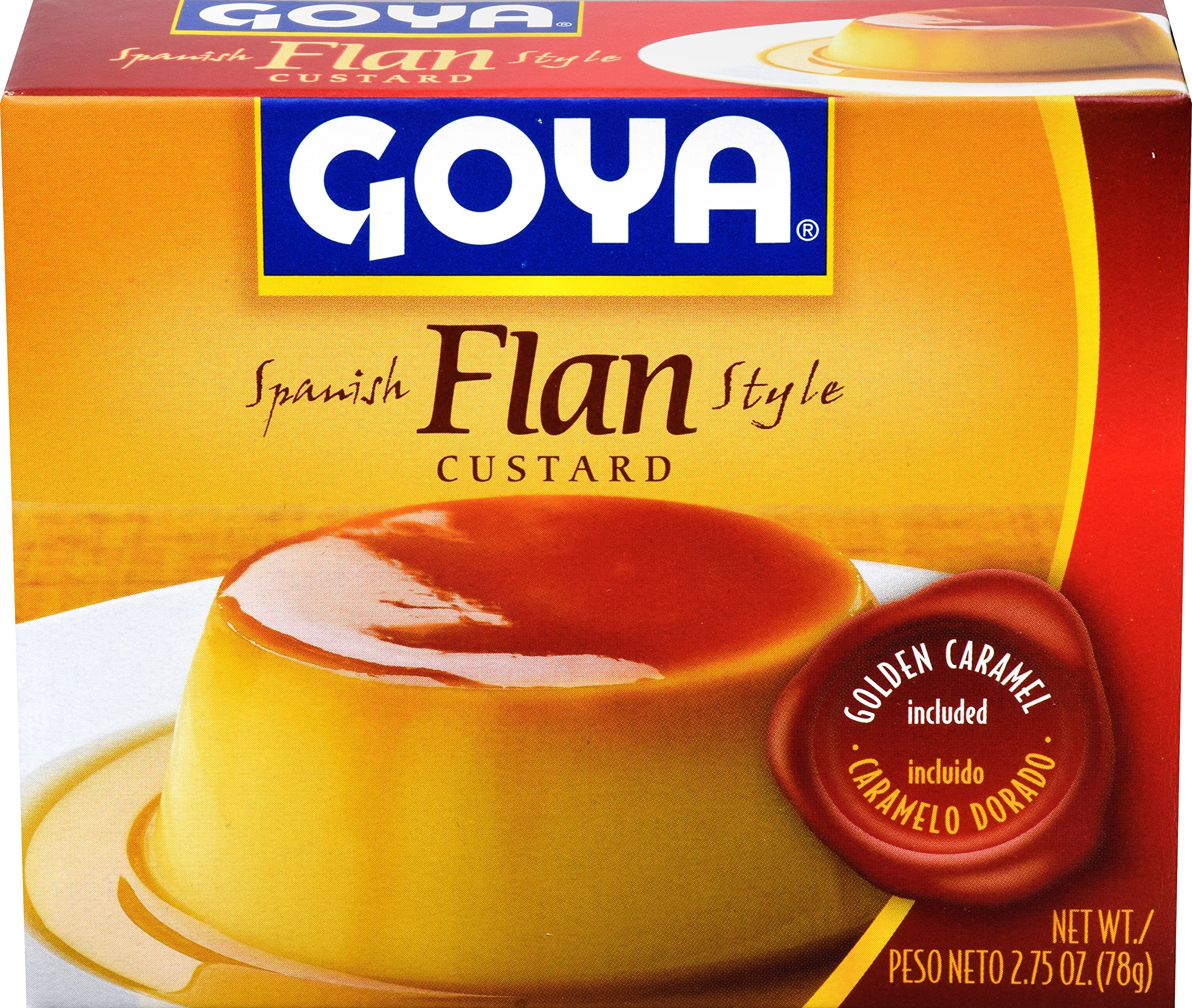 Goya Foods Flan with Caramel, 2.75 Ounce (Pack of 36)