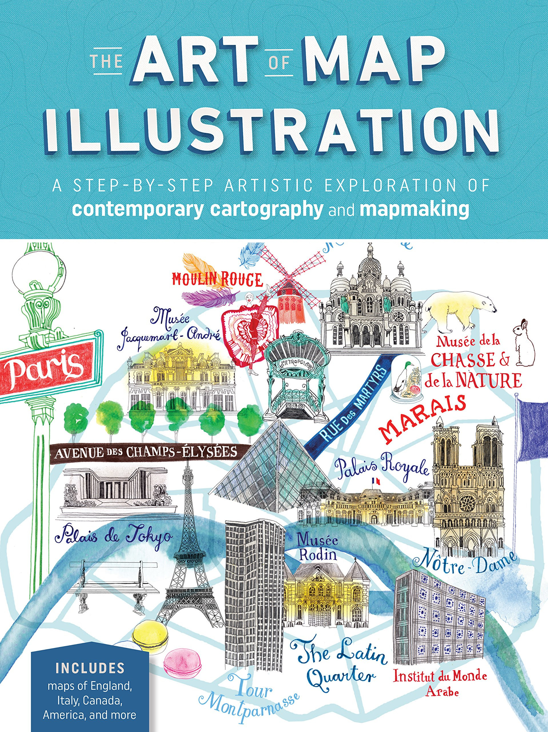 Art Of The Map Illustration  A Creative And Artistic Exploration Of Modern Cartography  Artistry