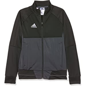 Adidas Tiro 17 Funktionsjacke Herren Black green white