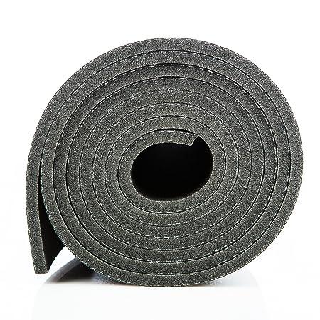 Esterilla de yoga KURMA profesional, extra larga 182,88 cm 7 ...