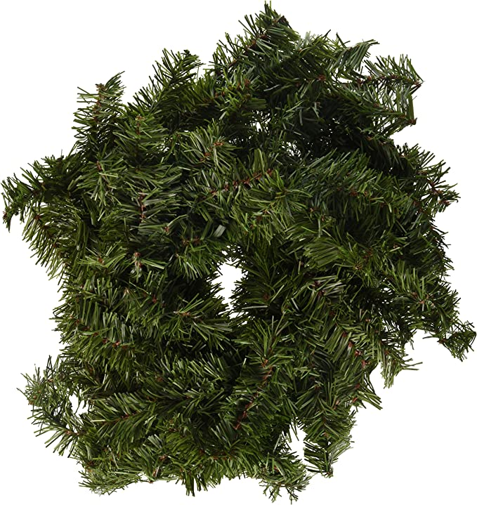 Darice Mc 1111 9 Foot Canadian Pine Garland Seasonal Decor Green Home Kitchen