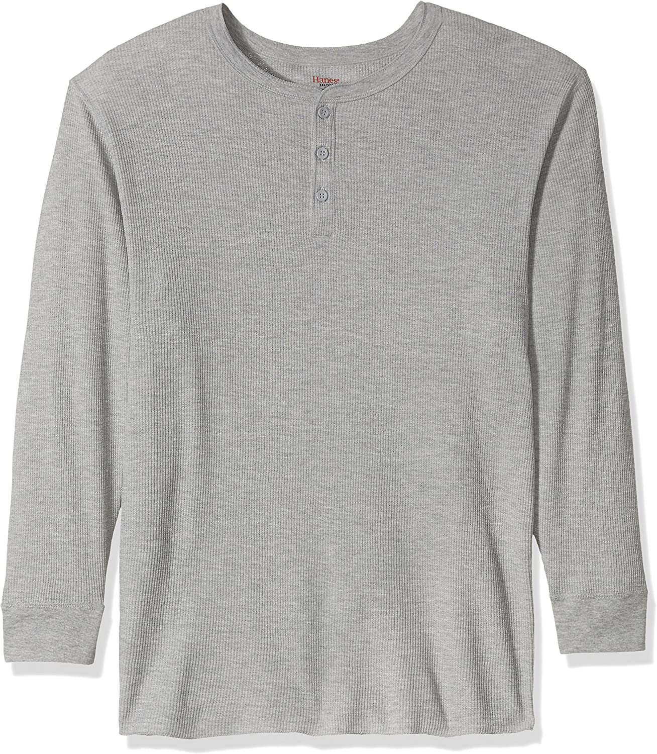 Hanes Tall Men's Big Red Label X-Temp Thermal Henley
