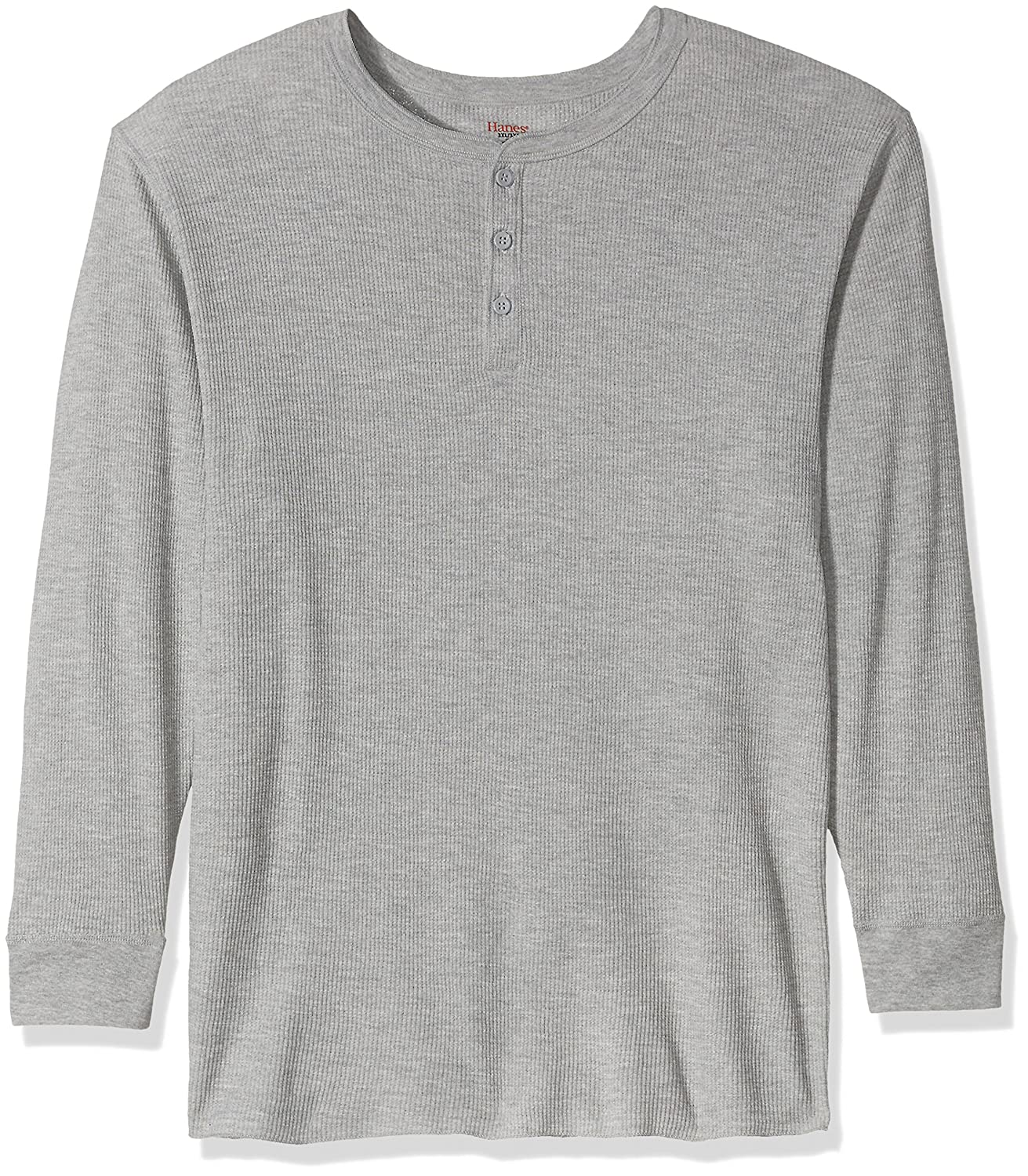 Hanes Tall Mens Big Red Label X-Temp Thermal Henley