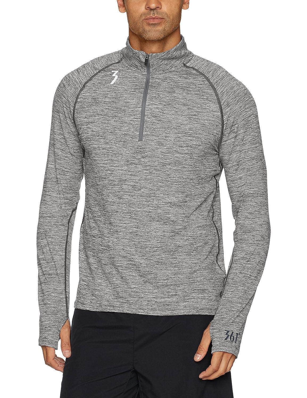 361 Grad Sports Apparel Herren Qu. K Thermo-Lux 1/2 Zip Shirt
