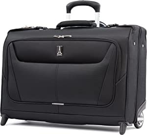 Travelpro Maxlite 5-Lightweight Carry-On Rolling Garment Bag, Black
