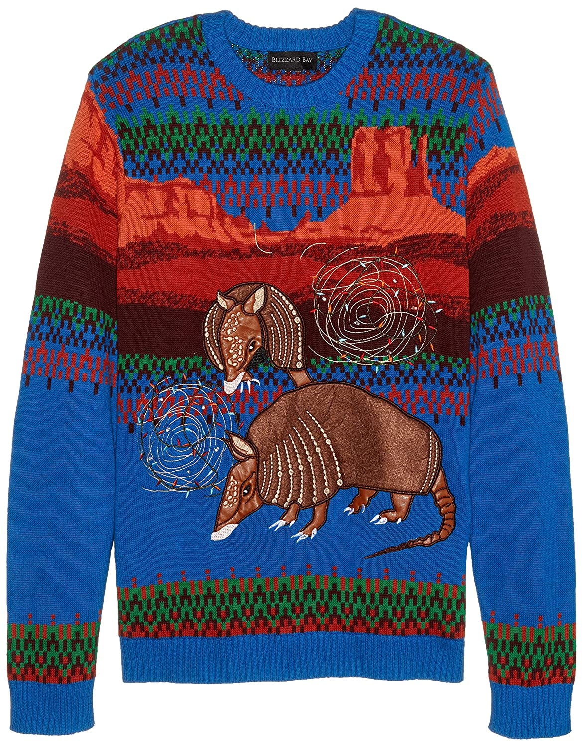 Blizzard Bay Men's Southwestern Themed Ugly Christmas Sweater Blizzard Bay Mens Apparel