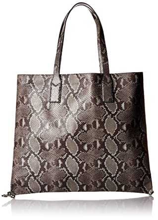 bd16b4fba655 Amazon.com  Marc Jacobs Wingman Snake Shopping Bag
