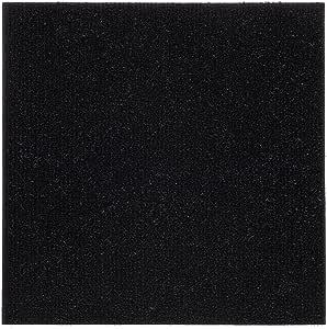 Achim Home Furnishings NXCRPTJT12 Nexus Jet 12 inch x 12 inch Self Adhesive Carpet Floor Tile, 12 Tiles/12 Sq'.