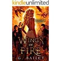 Wings of Fire: A Reverse Harem Paranormal Romance. (Protected by Dragons Book 2) (English Edition)