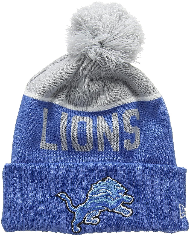 New era mens sport knit detroit lions beanie blue team one size sports  outdoors jpg 1205x1500 65daaed30c46