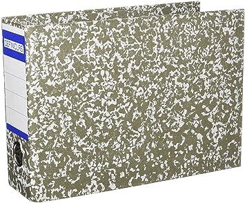 Definiclas 949949 - Archivador clásico, tamaño cuarto apaisado, lomo 75 mm, color gris: Amazon.es: Oficina y papelería